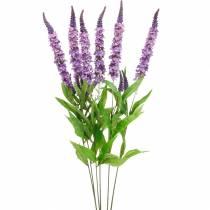 Papillon lilas, lilas artificiel, fleur en soie, lilas d'été 6pcs