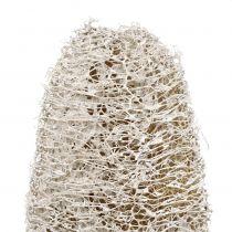 Luffa petit sur un bâton blanchi à la chaux 25pcs