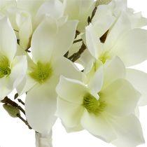 Bouquet de magnolia blanc 40cm 5pcs