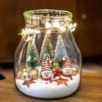 Mini boule de Noël or Ø3cm 14pcs
