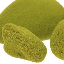 Mélange de pierres de mousse vert 5.5-13cm 12pcs