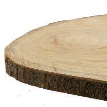 Disque d'arbre cloche bleu nature Ø40-50cm