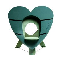 OASIS® Bioline® Urne déco coeur 65cm avec support