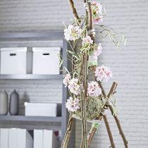 Boule mousse florale pâte sèche gris Ø16cm 2pcs