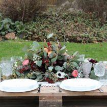 Dimensions du bouchon décoration de table bouchon mousse noir 48cm 4pcs
