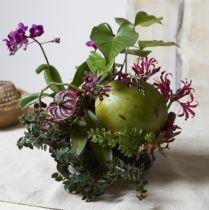 Cylindre mousse floral noir noir Ø15cm H5cm 2pcs