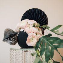 Boule mousse florale noir noir Ø16cm 2pcs