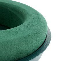 Bouchon composé anneau de bouchage mousse avec coque verte Ø30cm H4,5cm 2pcs