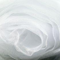 Tissu décoratif organza blanc 150cm x 300cm