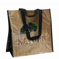 Sac shopping avec poignées Nature plastique 40 × 20 × 40cm