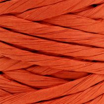 Cordon en papier renforcé 6 mm 23 m orange