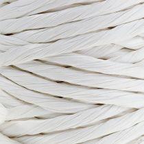 Cordon en papier renforcé 6 mm 23 m blanc