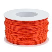 Cordelette de papier armé Ø 2 mm 100 m orange