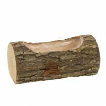 Jardinière en bois d'orme 20cm x 11cm H9cm