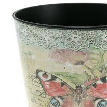 Pot de décoration vintage papillon Ø 10,5 cm