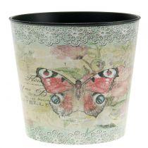 Pot de décoration vintage papillon Ø 17 cm