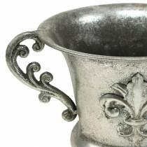 Coupe argent antique Ø20cm H24cm