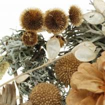 Mélange de décoration d'automne comme ensemble artisanal séché blanchi 150g