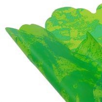 Manchettes rosaces Ø 48 cm vert pomme 50 p.