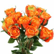 Rose Orange 42cm 12pcs
