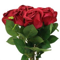 Rose Rouge 44cm 6pcs