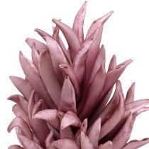 Fleur en mousse en violet 14cm L66cm