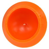 Bougie flottante orange Ø 16 cm