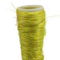 Cornet en sisal vert clair Ø 1,5 cm L. 15 cm 20 p.