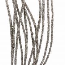 Guirlande succulente suspendue verte, bronze métallique 140cm