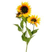 Tournesol jaune 85 cm