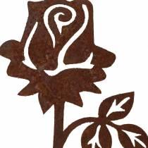 Bouchon en métal rose en acier inoxydable métal 20cm × 8cm 12pcs