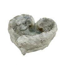 Plug shell forme de coeur 15cm x 13cm H8cm