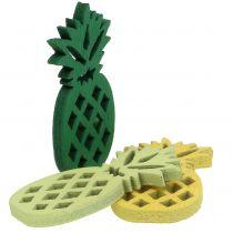 Déco à parsemer ananas en bois 3,5 cm 72 p.