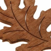 Décoration à parsemer feuille décorative érable chêne 4 cm 72 p.