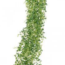 Plante artificielle suspendue succulente verte 96cm