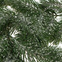 Guirlande de sapin 165cm glacée