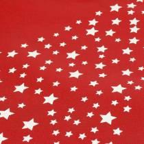 Sac de transport rouge avec étoiles 38cm x 46cm 24pcs