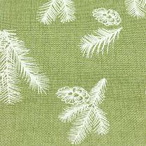 Nappe à motif sapin vert 20cm 5m