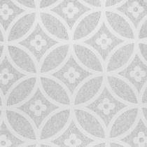 Chemin de table intissé avec motif gris 30 x 300 cm