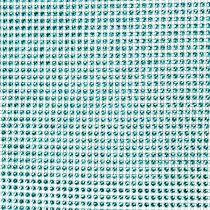 Chemin de table avec paillettes turquoise l. 25 cm L. 228 cm