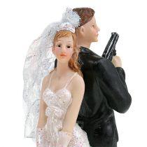 Figurine de gâteau couple 15,5 cm