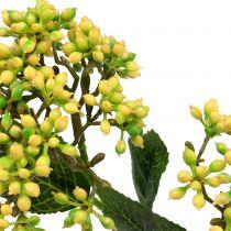 Branches de baies de viorne jaune 54 cm 4 p.