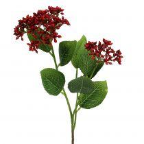 Branche de baies rouges, baies de viorne 54 cm 4 p.
