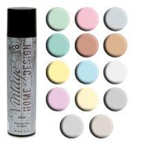 Spray de couleur vintage différentes couleurs 400ml