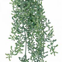 Plante verte suspendue artificiellement avec bourgeons vert, blanc 100cm