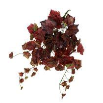 Feuilles de vigne à suspendre en vert, rouge 67cm