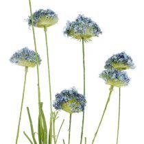 Fleurs des champs bleues L. 65 cm 3 p.