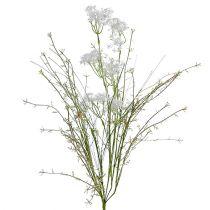 Fleurs du jardin blanches L. 50 cm 3 p.