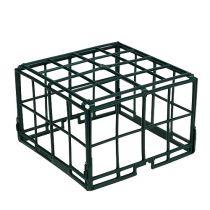 Grille brique 1/2 260mm x 260mm x 75mm plat 20pcs