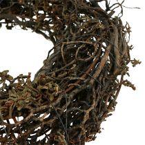 Couronne de branche Ø25cm 2pcs. la nature